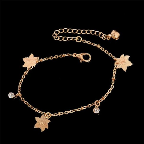 Fashion Anklet with Charms