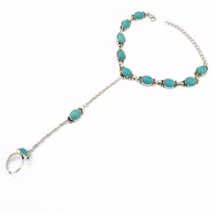 Fashion Summer Boho Silver Plated Anklet