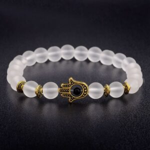 Hand of Fatima Elastic Beads