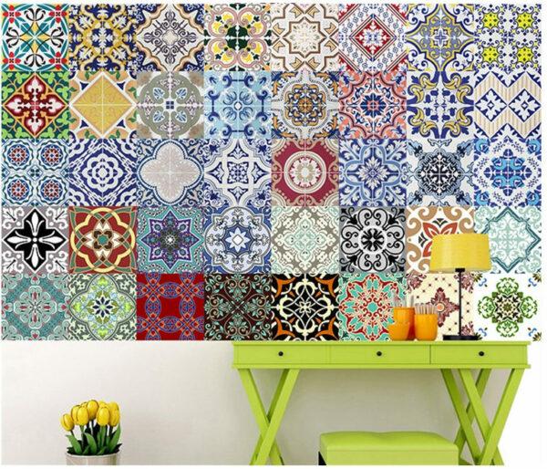 Mediterranean Style Stickers