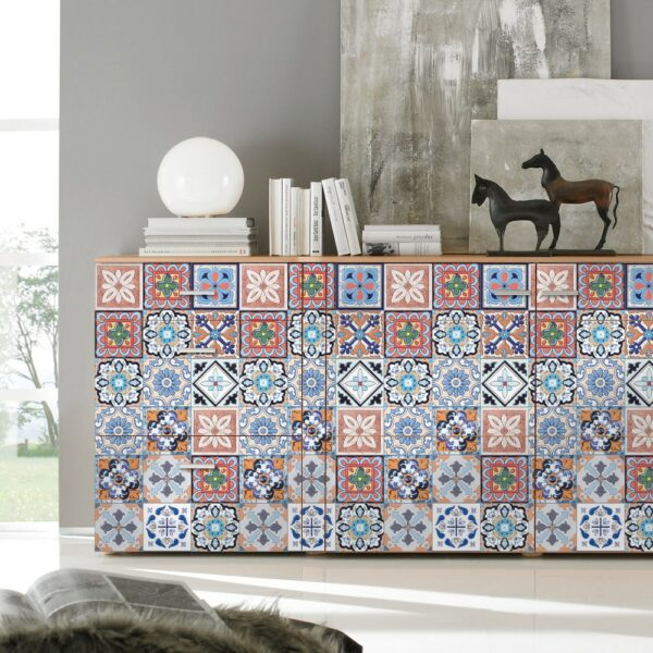 Moroccan Wall Art Stickers (25 pcs)