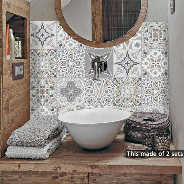 Moroccan Tiles Wall Sticker