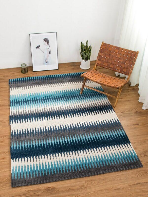 Modern Style Berber Rug