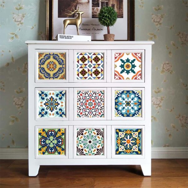 Moroccan Tile (Self-adhesive Wallpaper)